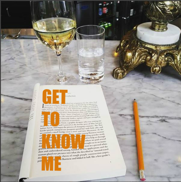 wine, Toronto, personal facts, book, reading