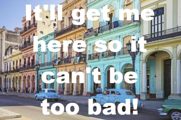Havana, Cuba, colourful buildings, vacation