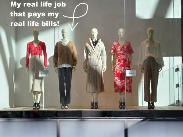 Visual merchandising, window visual, store window